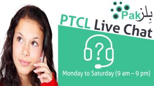 PTCL Online Live Chat