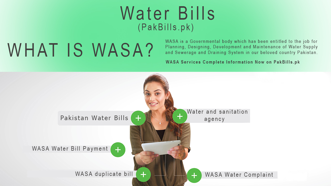 WASA Water Bill