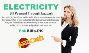 Electricity Bill Payment Through Jazzcash