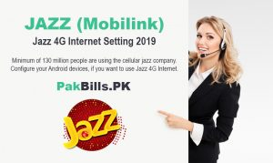 Jazz 4G Internet Setting